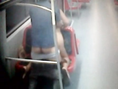 European students have hot hardcore sex on the train