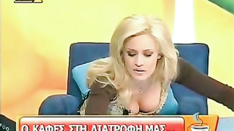 big boobs tv host