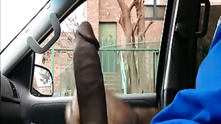 Solo Black Dick Masturbation