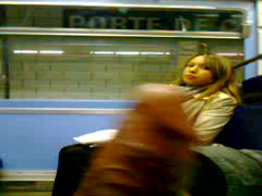College girl stares at him flashing and masturbating on the train