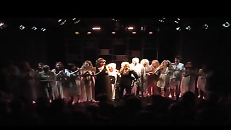 Unforgettable theater performance with nude actors