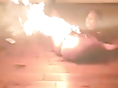 Pussy on fire gets a whole new meaning