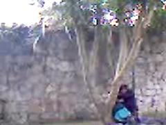 College tart enjoys riding hard on her friend's throbbing penis