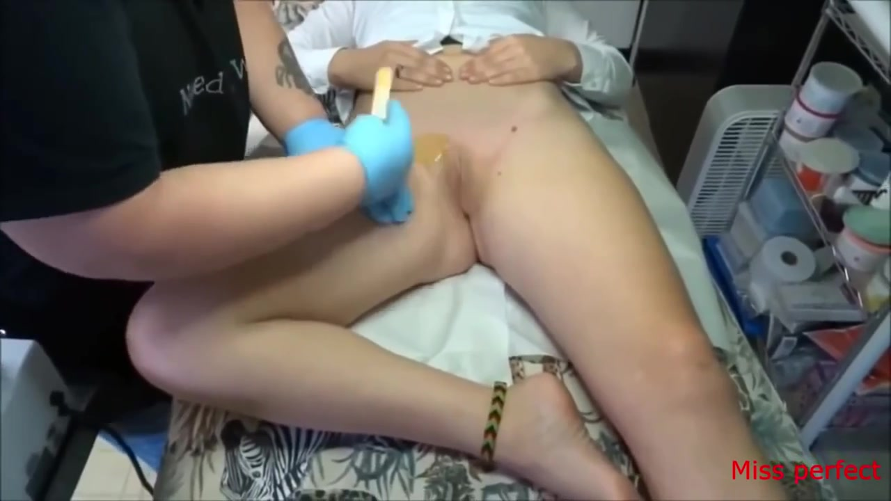 Russian girls bent over naked