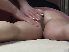 Sensual massage for my friend's bootylicious wife