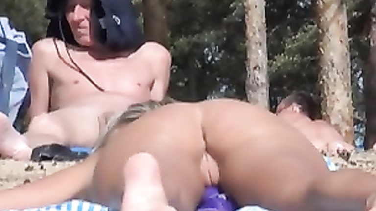 Nude aunties having sex