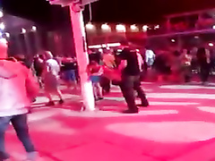 Impeccable Dutch girl gets drilled at the open air party