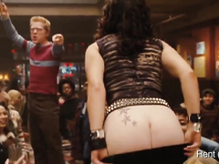 Naked butts of the most flamboyant actors and actresses