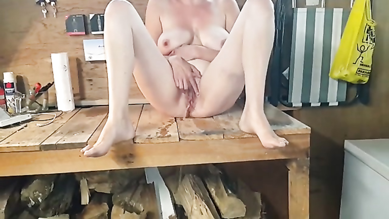 Two girls on cock