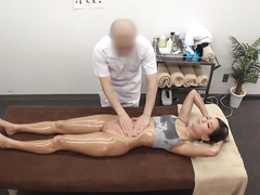 Sensual massage session with a lovely Asian angel