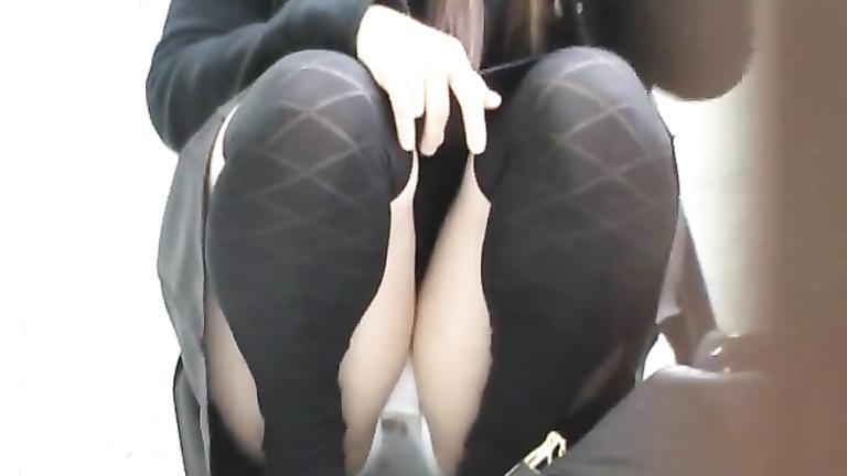 Girl Flashing Ass Public