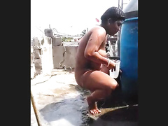 Dominican woman filmed in secret when bathing