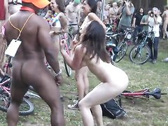 Naked dance parties
