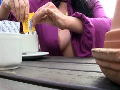 British woman loves public flashing and masturbation