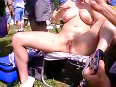topless women cancun beach
