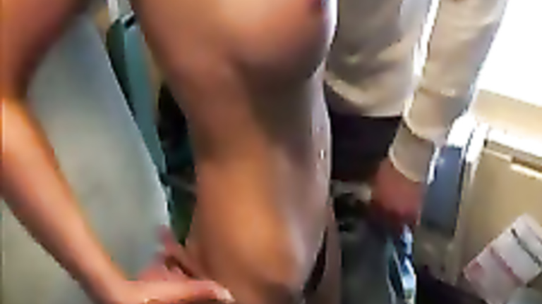 Train sex tube