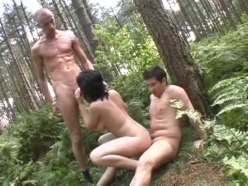 nude forest with men
