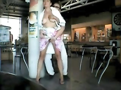Public nudity compilation at the airport