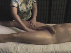 Hot cock massaging on cam