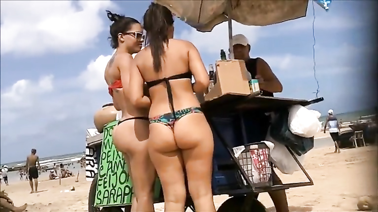 Nicest asses in thongs on video new porno