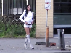 Sexy street hookers in a quick compilation