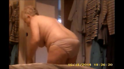 Naked gramma happens