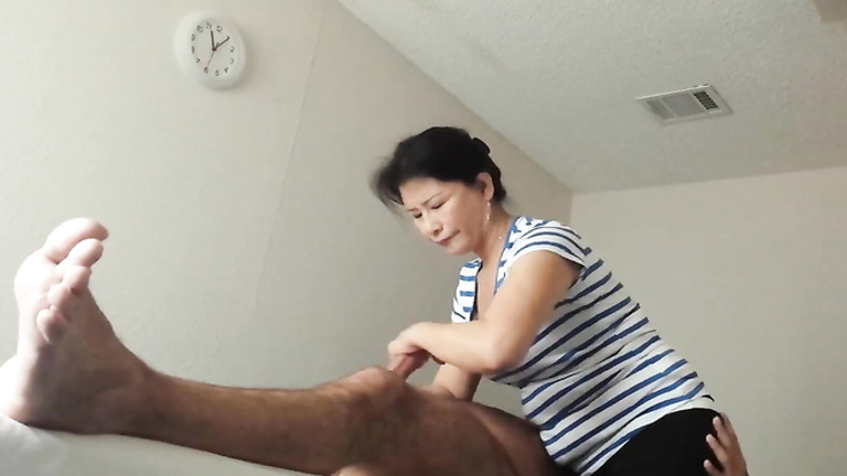 Asian Teen Handjob Cumshot