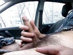 My hairy cock is ready for some manual override