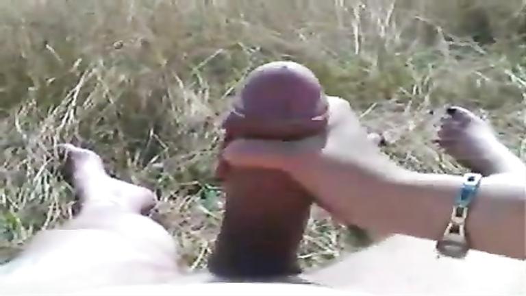 Monster Cock Handjobs