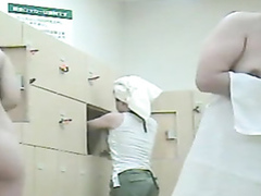 Asian locker room cams with lots of women