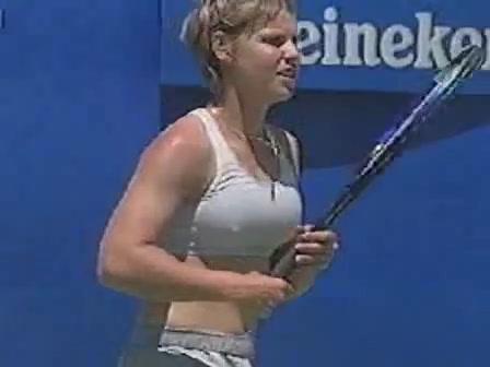 Big tits tennis player