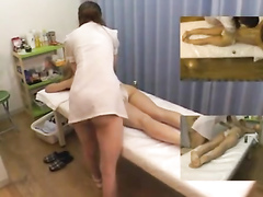 Asian undresses for her sensual therapy