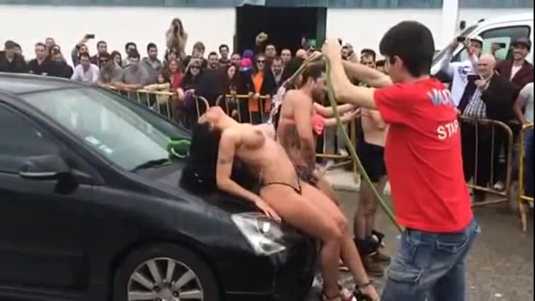 Exhibitionist Big Cock Solo