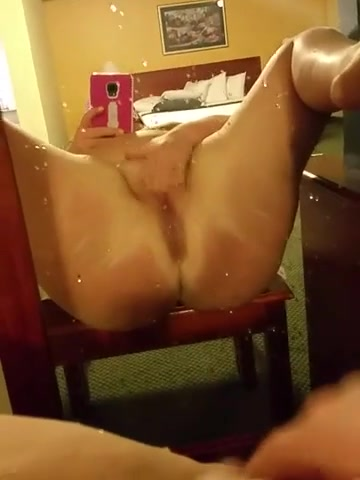 Jerking Off All Over Her