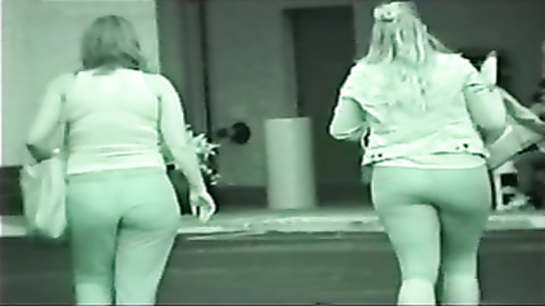 Mother and daughter both have amazing bums