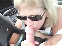 Skillful girlfriend licks the dick like a pro