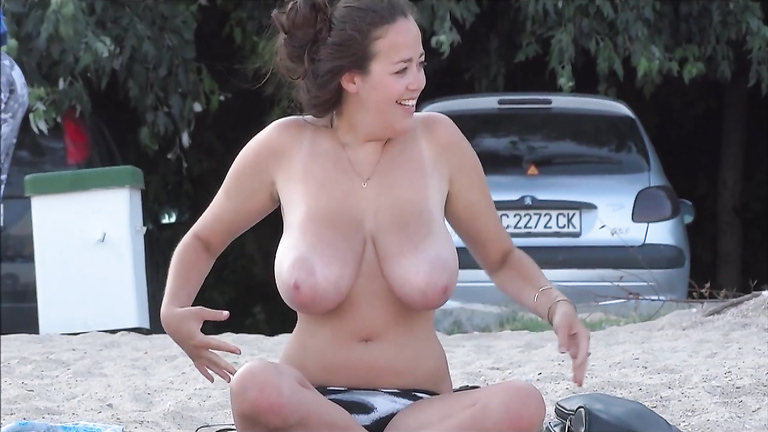 Hot and sexy naked women with big breasts