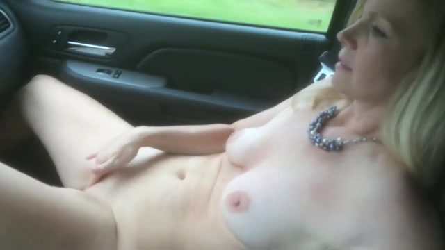 nude wives in cars